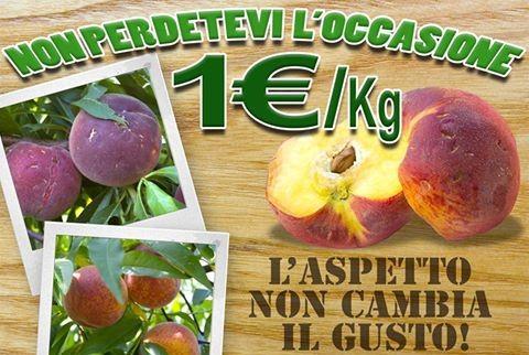 Offerta frutta fresca